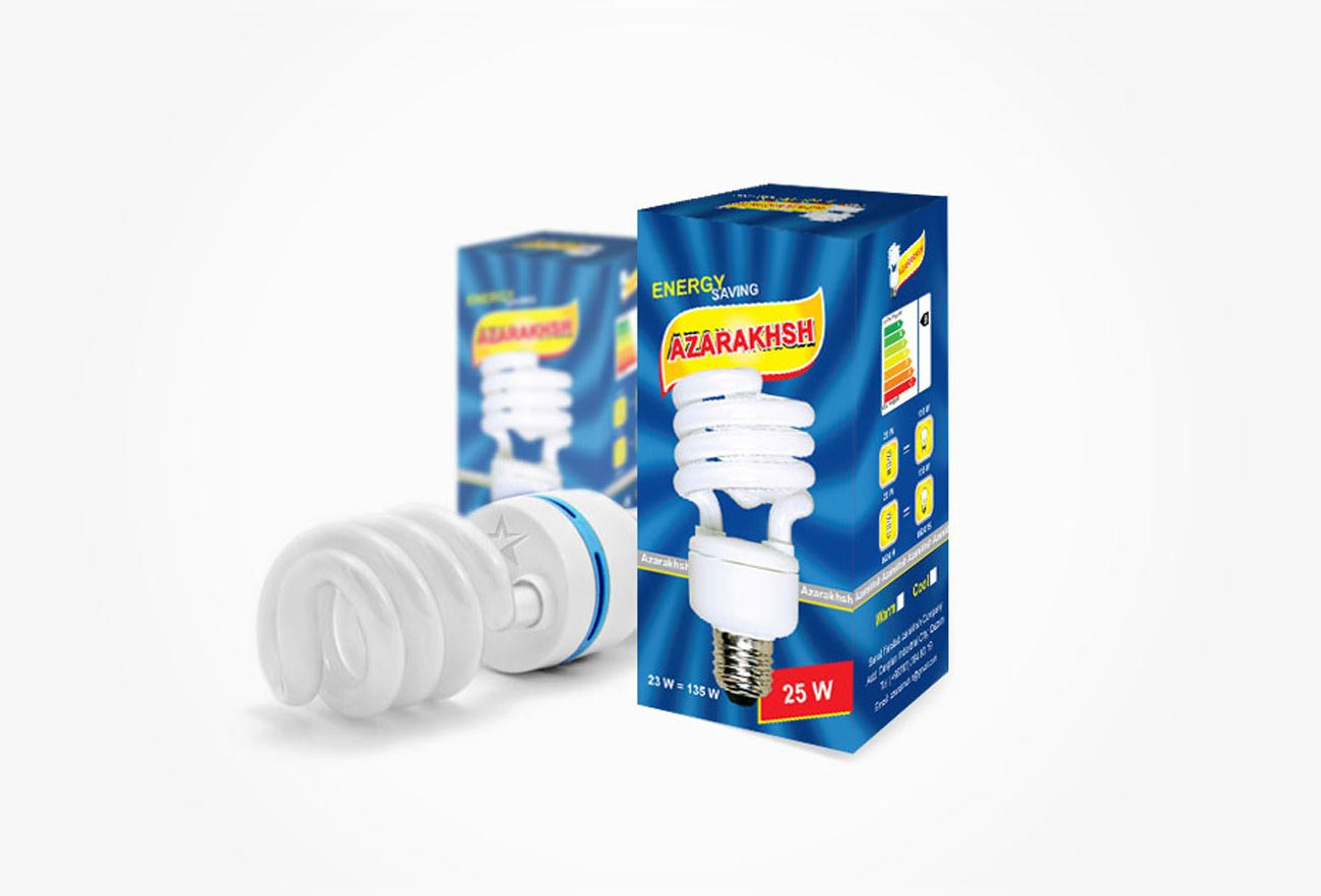 Lamp package design by NXT ANCHOR