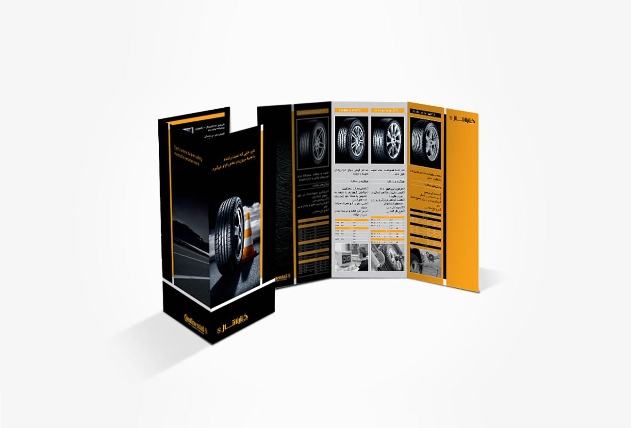 Continental Tires Catalog Design by NXT ANCHOR Los Angeles