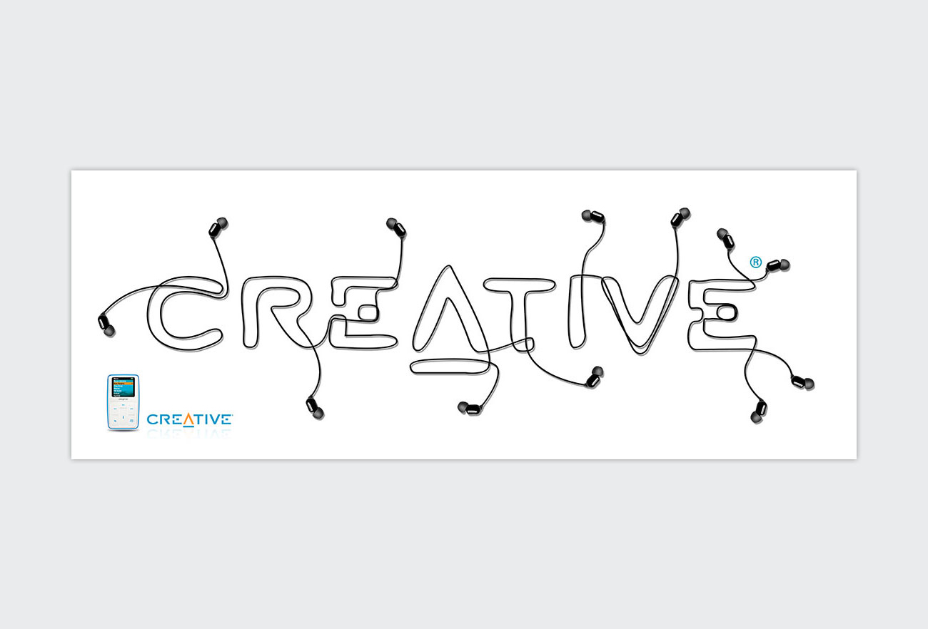 Creative Mp3 Player Creative Advertising NXT ANCHOR Los Angeles