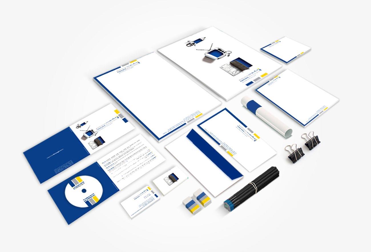 Farafarin Advertising Agency Brand Identity Design by NXT ANCHOR