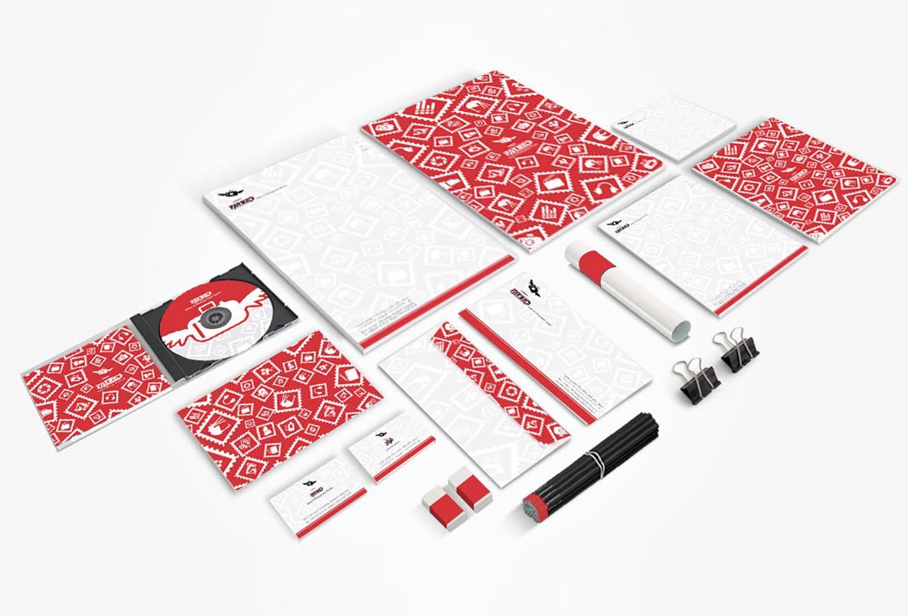 Farzad Studio Brand Identity Design NXT ANCHOR Los Angeles