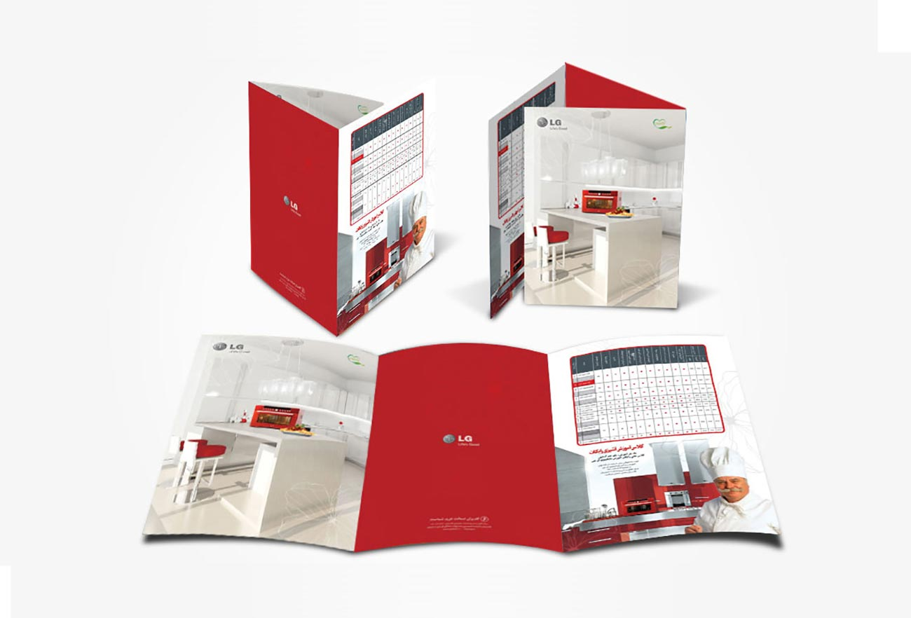 LG Catalog Design by NXT ANCHOR Los Angeles
