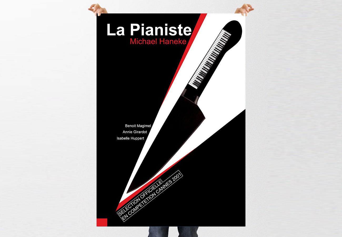 La Pianiste Poster Design NXT ANCHOR