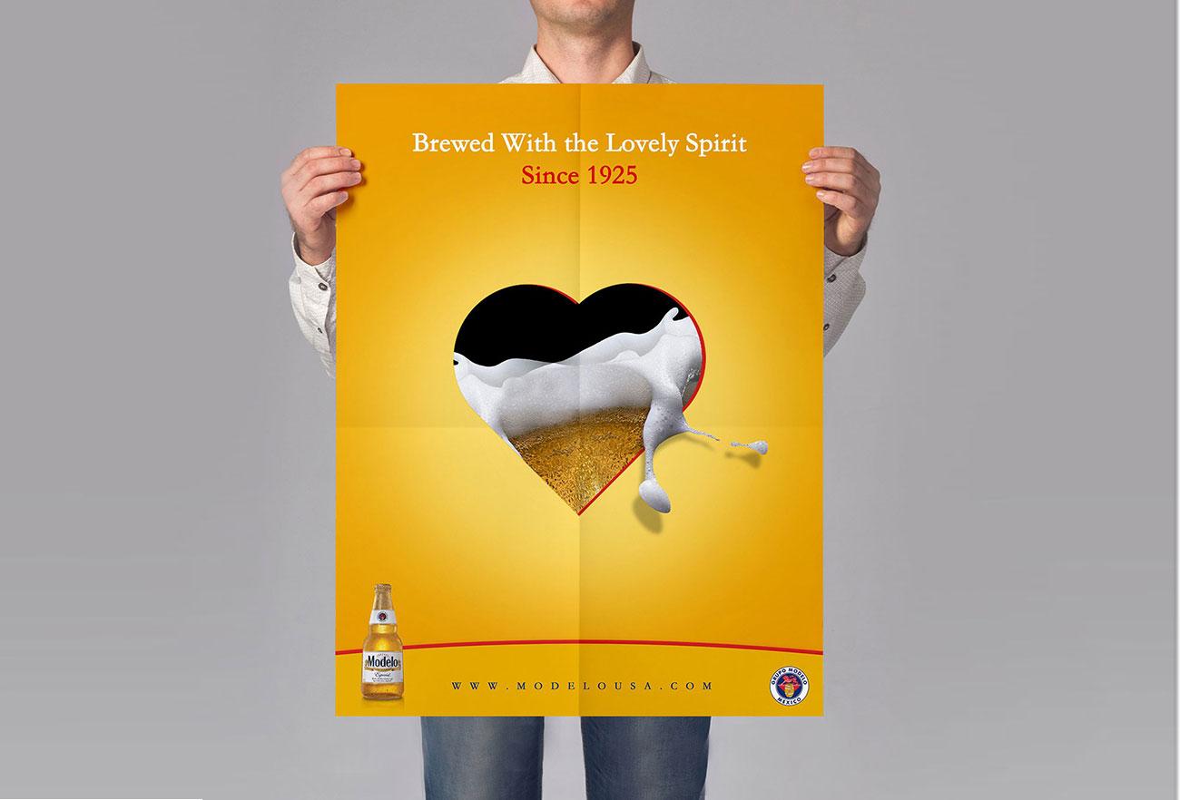 MODELO Espesial Beers Campaign Design by Eraser Studio -2