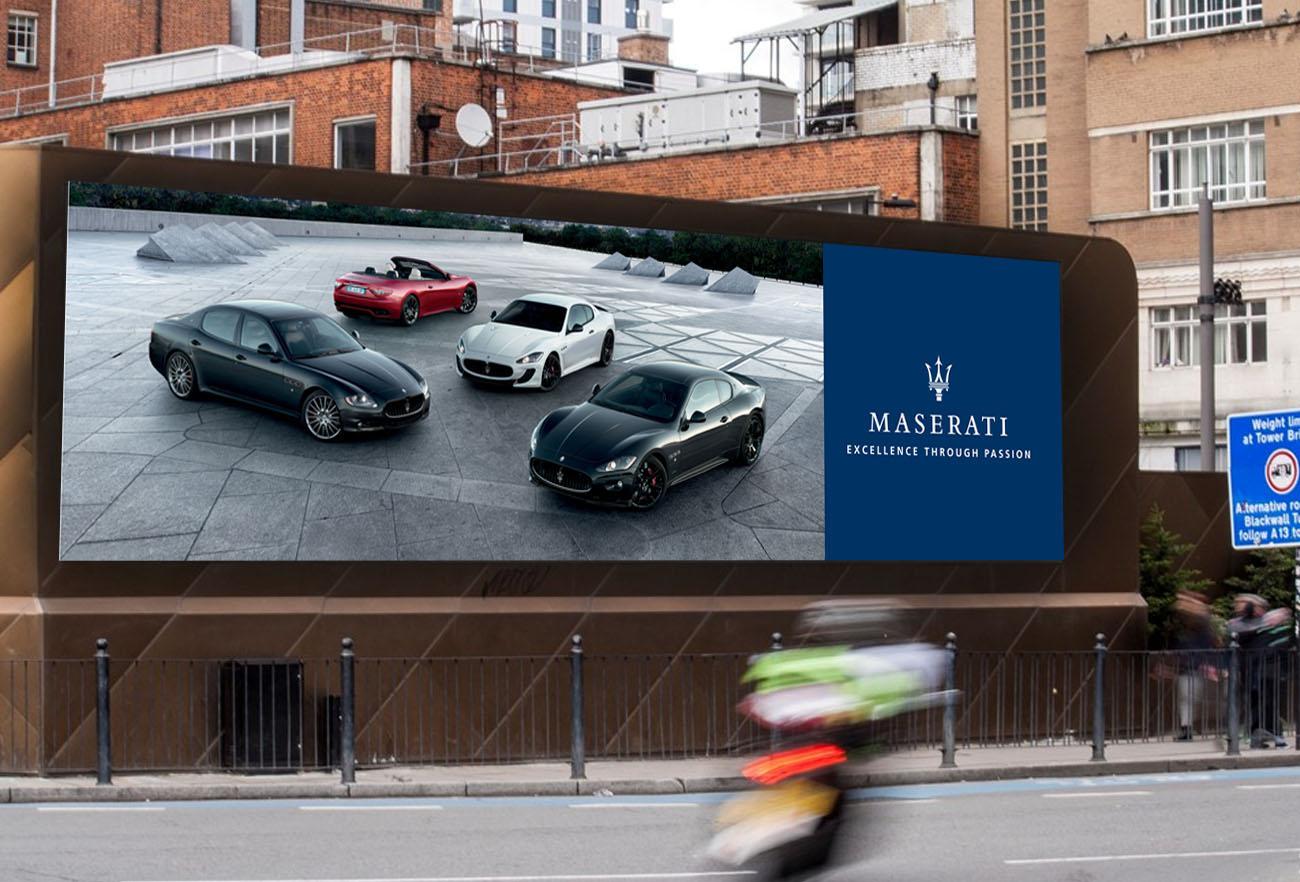 Maserati Creative Advertising NXT ANCHOR Los Angeles