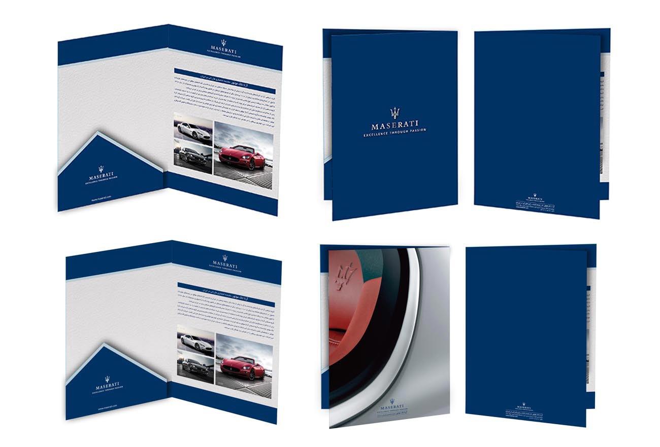 Maserati Catalog Design by NXT ANCHOR Los Angeles