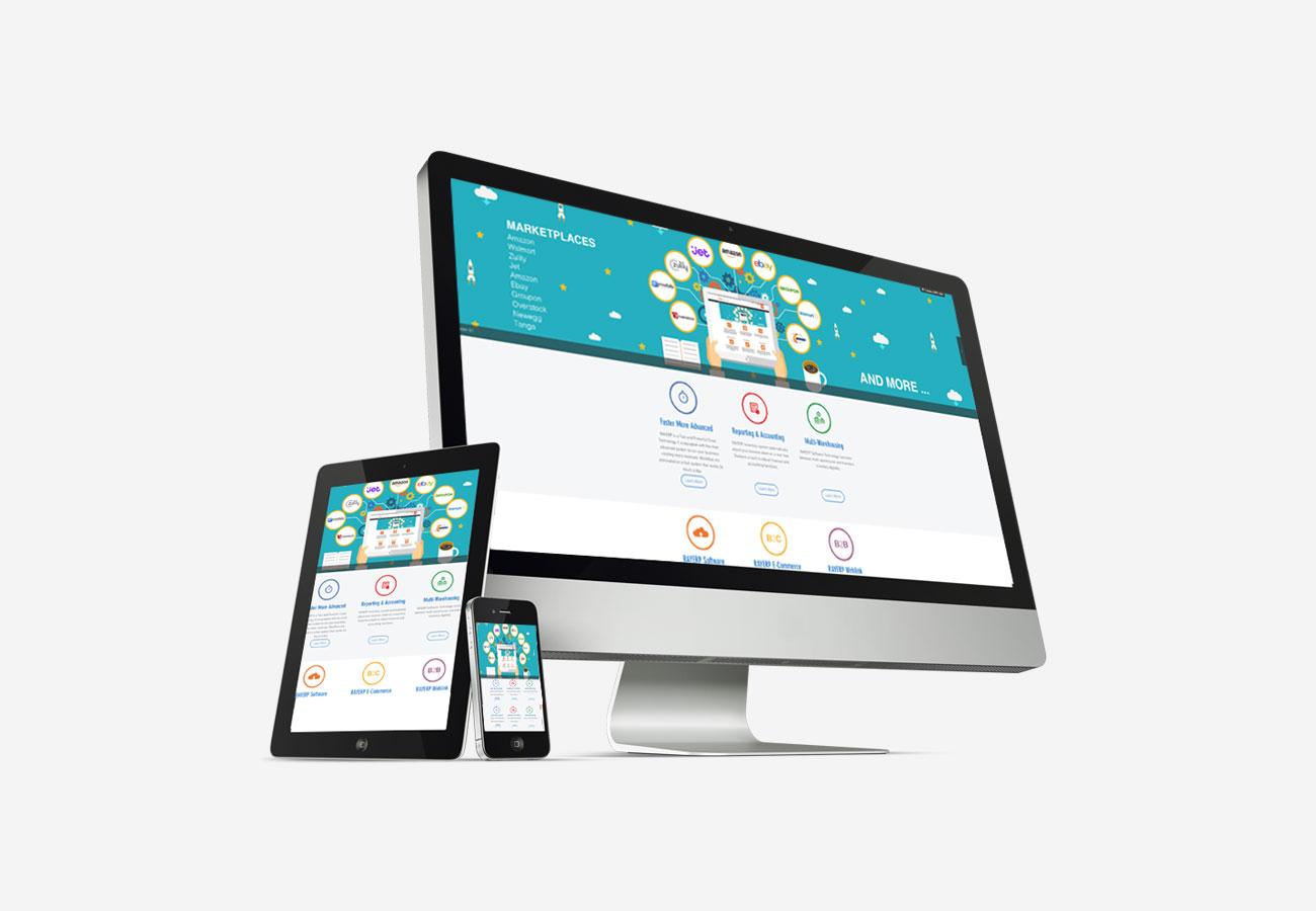 RAY ERP Website Design NXT ANCHOR Los Angeles California