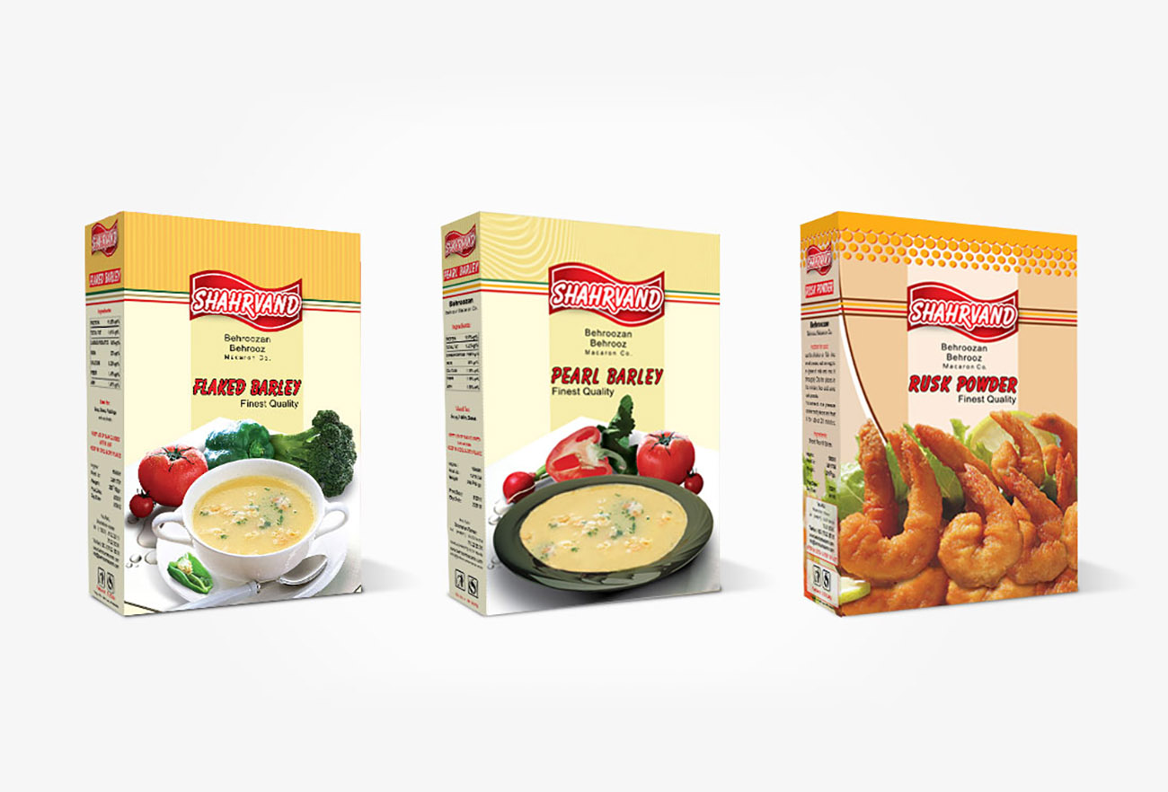 Food package design by NXT ANCHOR