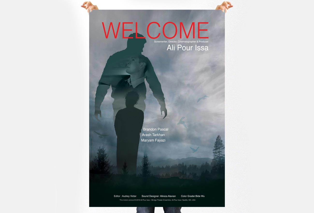 Welcome Movie Poster Design NXT ANCHOR